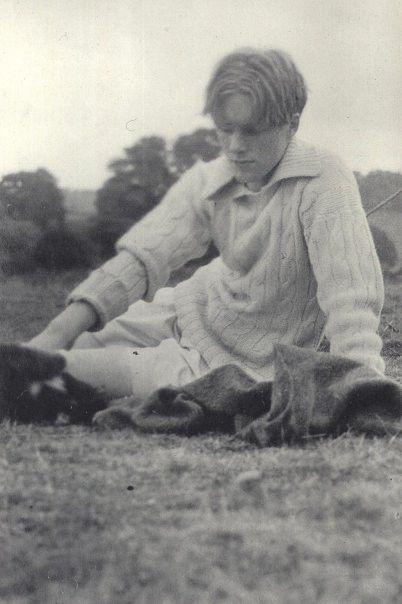 Rupert at Buckler's Hard 1910