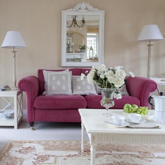 Living Room Sofa Detail | Real Homes   Elegant 1930s Surrey House |  Housetohome.co Part 75