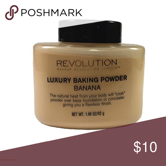 New! Revolution Banana Baking Powder 💕💕💕 For a flawless