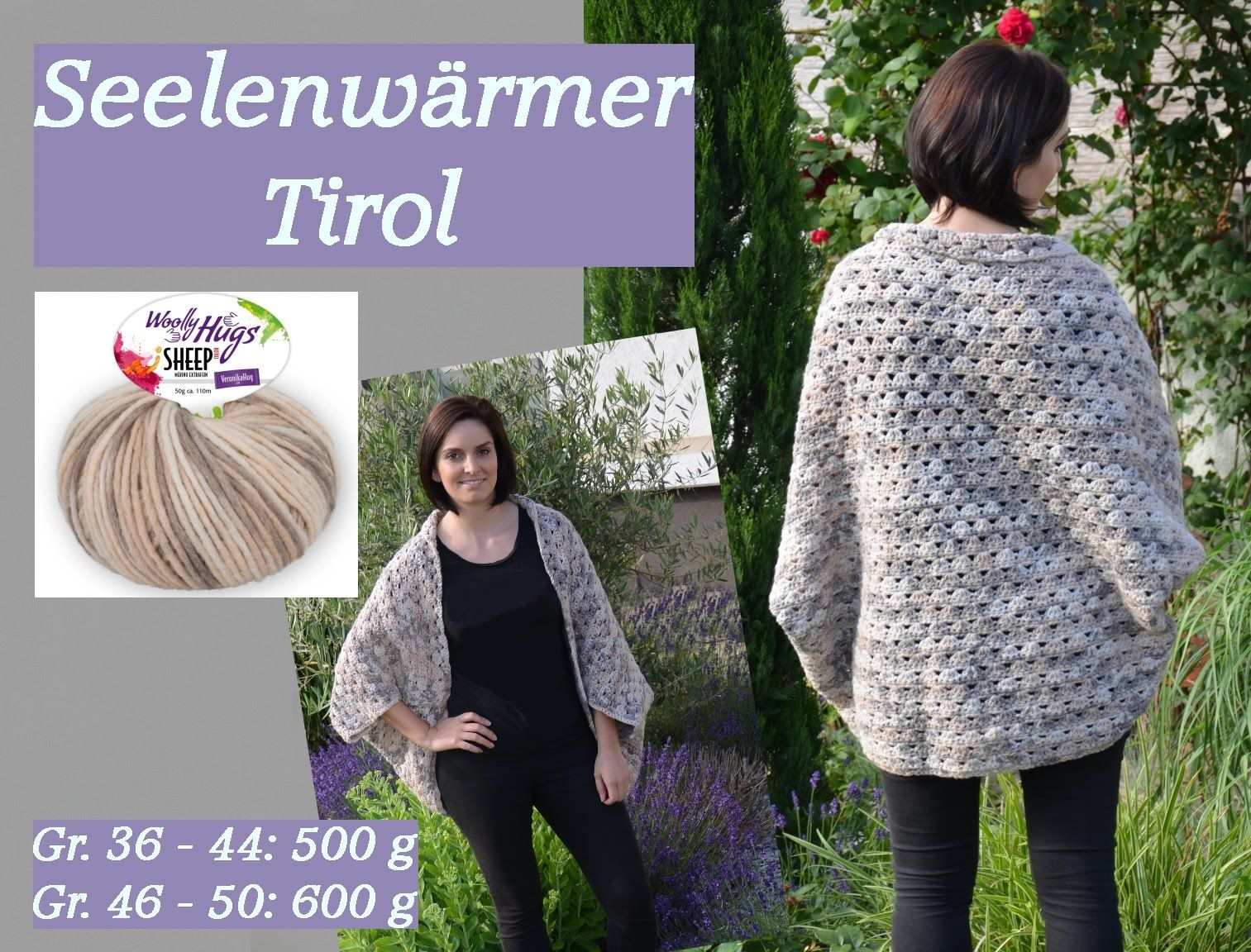 Häkeln Seelenwärmer Woolly Hugs Sheep Veronika Hug Youtube