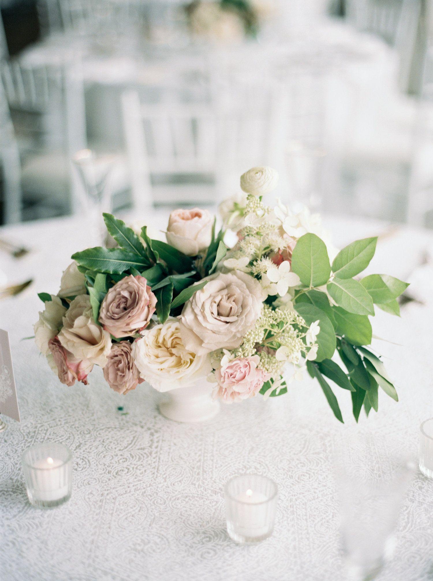 La Tavola Fine Linen Rental Beatrice Garden Smoke With Hemstitch White Napkins Photography Elizabeth Laduca Rose Petal Aisle Wedding Wedding Event Planner