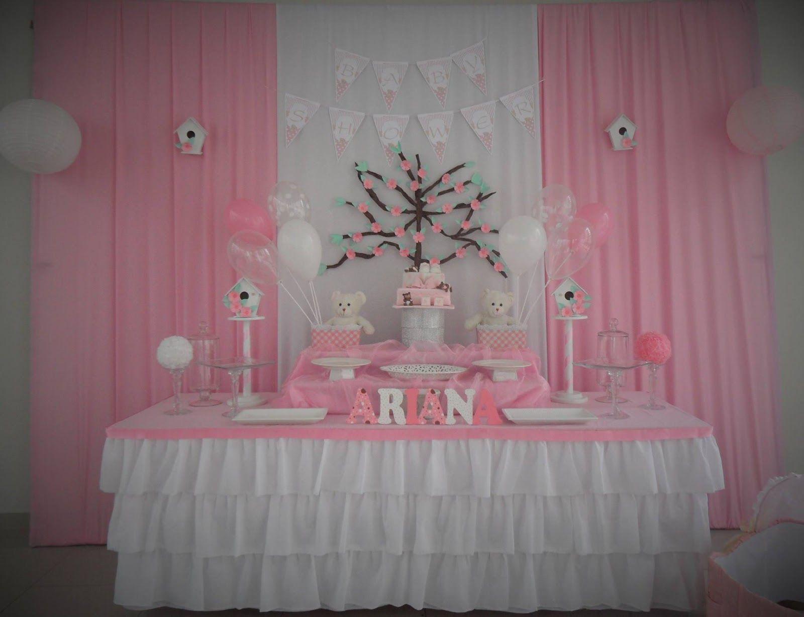 Resultado de imagen para decoracion baby shower ni a for Decoracion para bebe nina