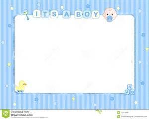 Baby Boy Page Borders Frames Free Desain Dekorasi