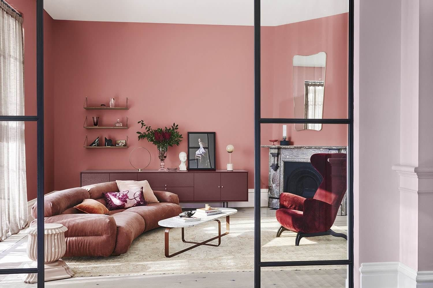 look out for dazzling 2019 color trends home interior on trendy paint colors living room id=62007