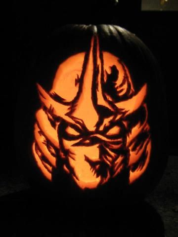 Awesome shredder pumpkin TMNT Pinterest