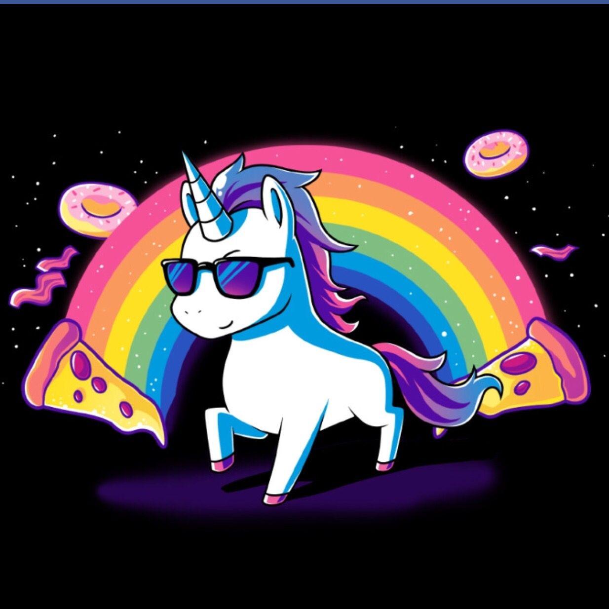 Unicorns and pizza yezzzzzz mia ideas bday in 2018 pinterest licorne dessin licorne and - Image licorne ...