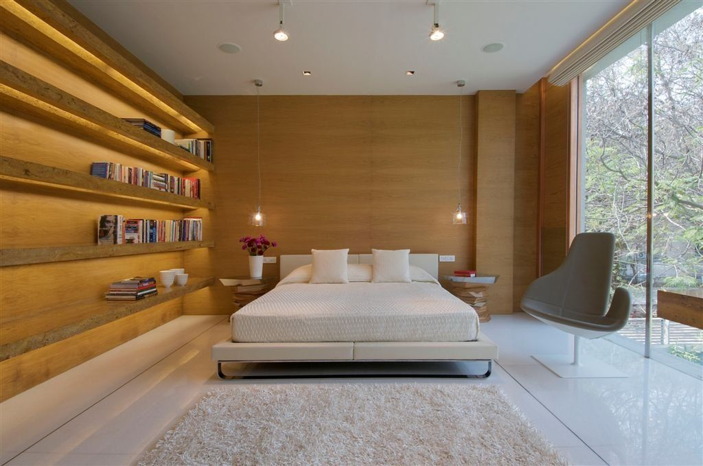 Hyderabad House By Rajiv Saini And Associates #bedroom
