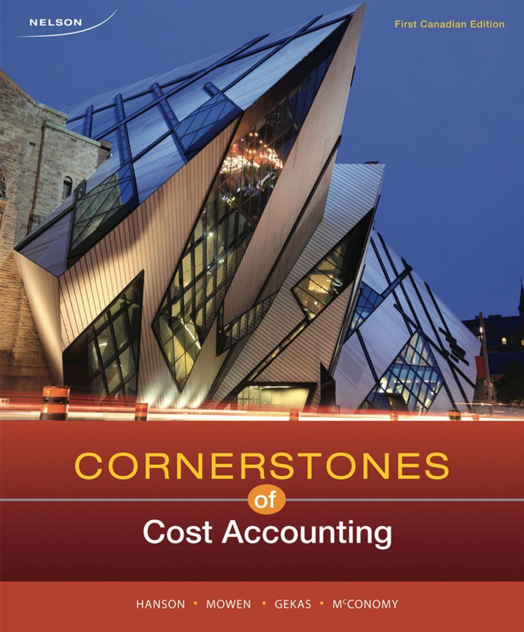 Cornerstones of Cost Accounting (eBook Rental) Cost