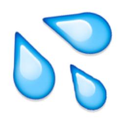 Splashing Sweat Symbol Emoji U 1f4a6 U E331 Emoji Symbols Cute Emoji Wallpaper