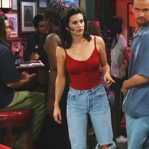 Monica geller 90s outfit fashion pinterest 90er for 90er party outfit