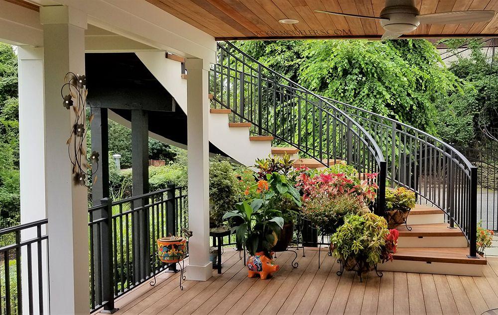 Composite Deck Builder Trex Deck Pictures Curved Deck Pictures Pvc Decking Custom Lattice Privacy Patio Deck Designs Deck Design Plans Decks Backyard