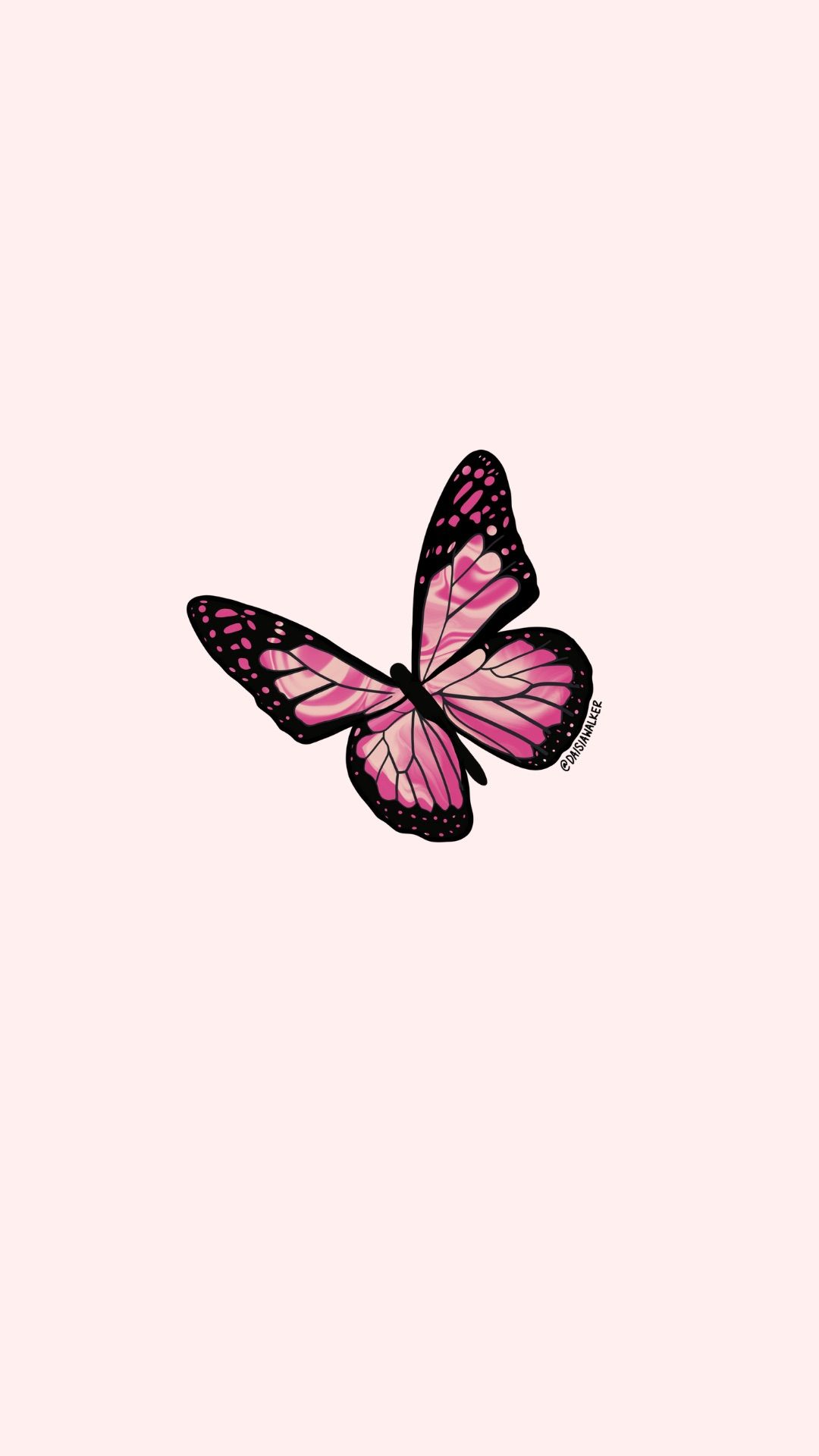 Pink Butterfly In 2020 Pink Wallpaper Backgrounds Iphone Wallpaper Tumblr Aesthetic Pink Wallpaper Iphone