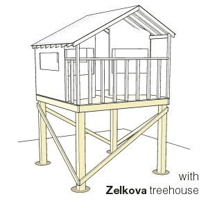 Free Standing Tree House Plans 8x8 freestanding platform | crafting with kids | pinterest