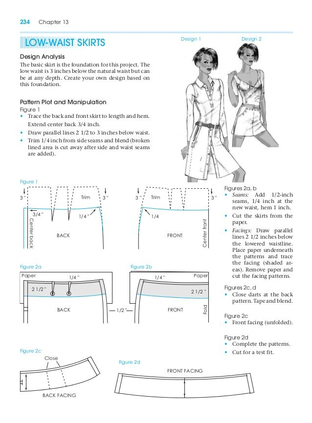 Low Waist Skirt Pattern Making For Fashion Design Learn To Make Your Own Clothes At Https Payhip Com P Fashion Sewing Pattern Patternmaking Garment Pattern
