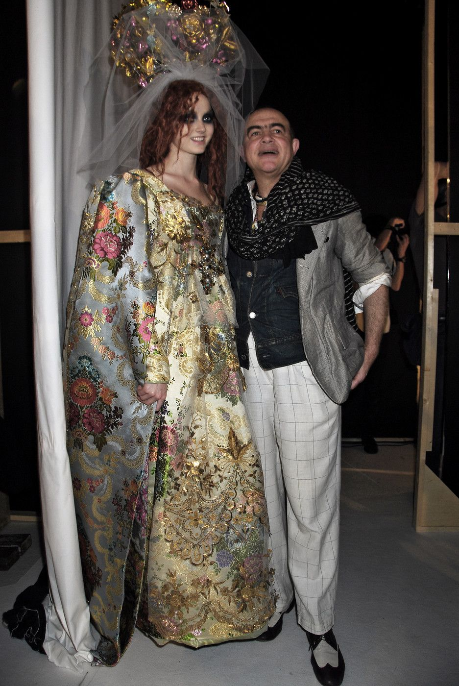 Wedding Dresses-Christian Lacroix-Luxe-Fashion-Elegance-Haute Couture-Bride /Source stylebistro ...