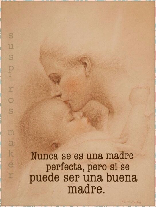 ✨Ser una buena madre...