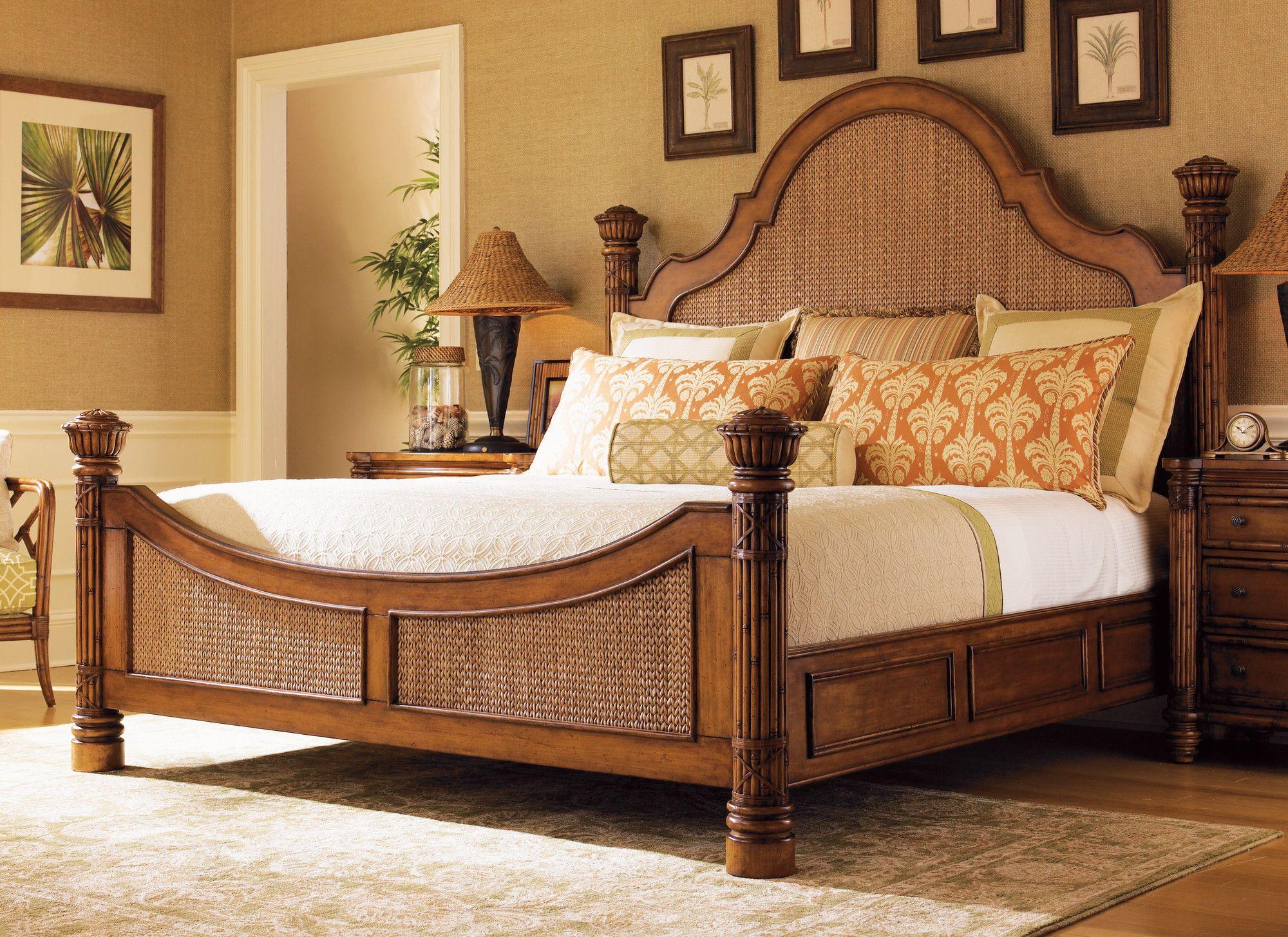 Island Estates Standard Bed | Tropical bedrooms, Bedroom ...