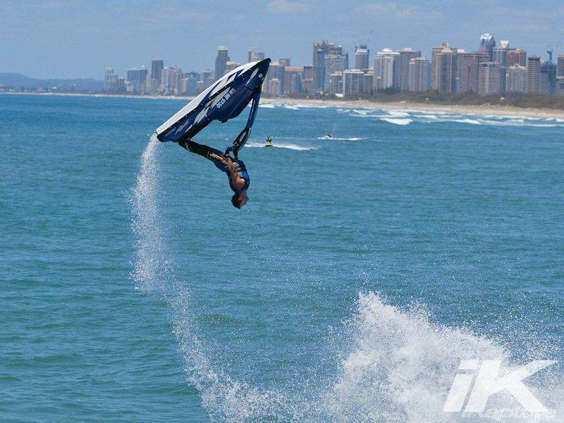 Shea Adam S Backflips For A Portfolio Shot Ikapture Jet Ski Cool Boats Ocean Sports