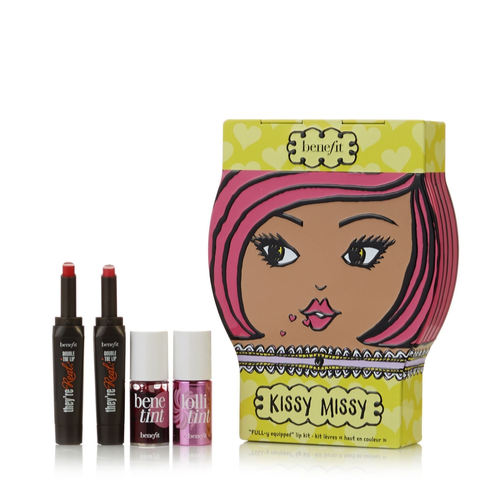 228772 Benefit 4 Piece Kissy Missy Makeup Collection QVC