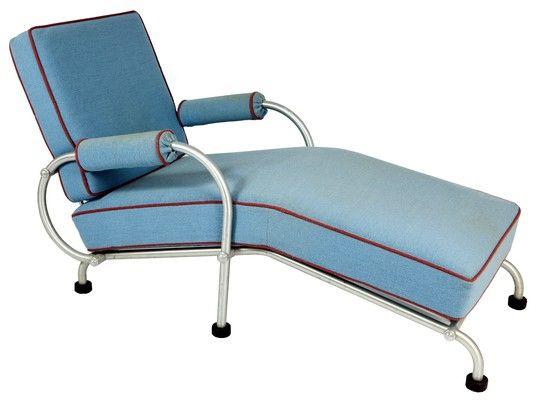WARREN MCARTHUR American Art Deco Chaise Lounge u2013 Warren McArthur (1885-1961) designed  sc 1 st  Pinterest : art deco chaise lounge - Sectionals, Sofas & Couches