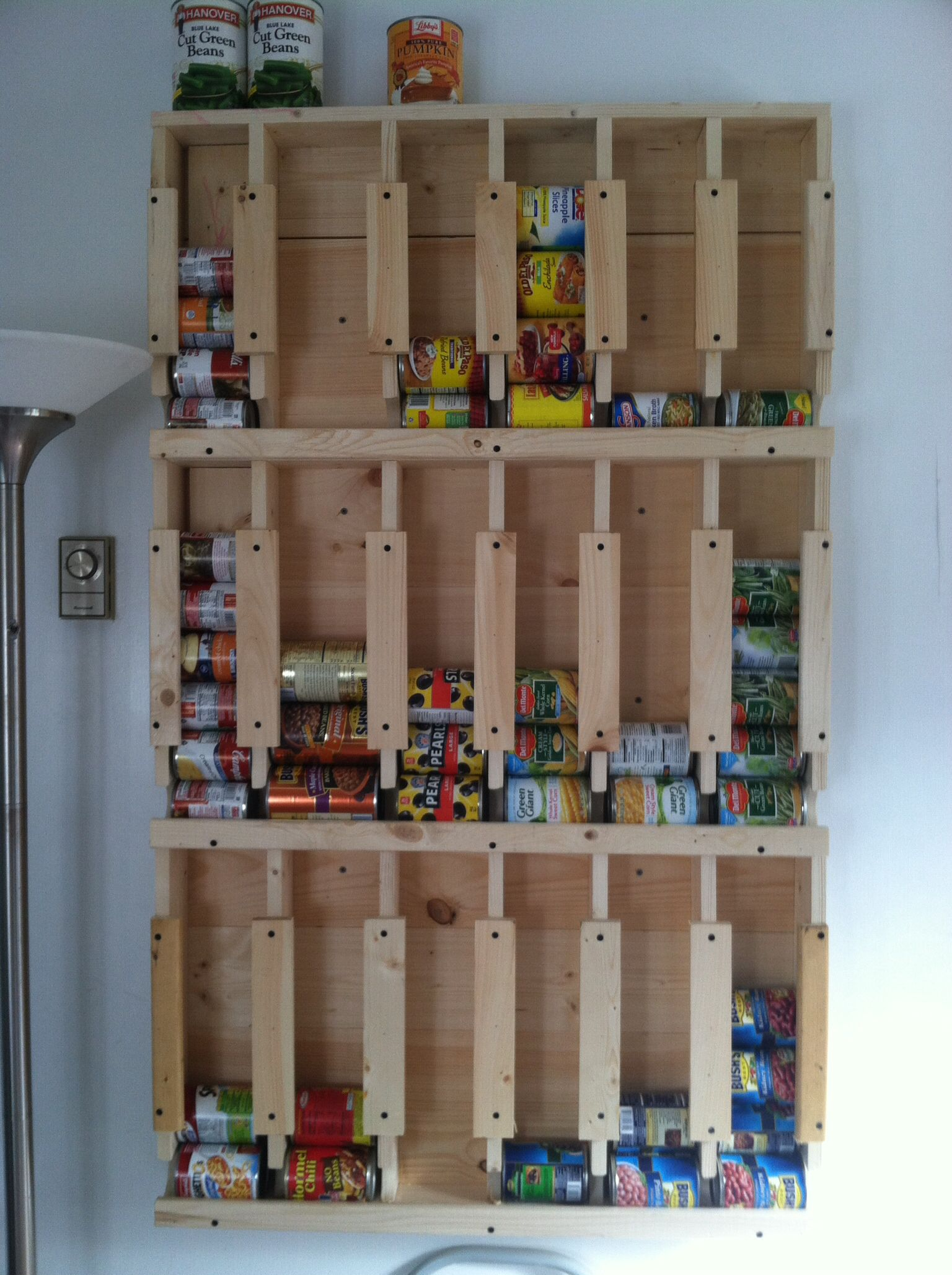 Can storage my Husband made from another idea off