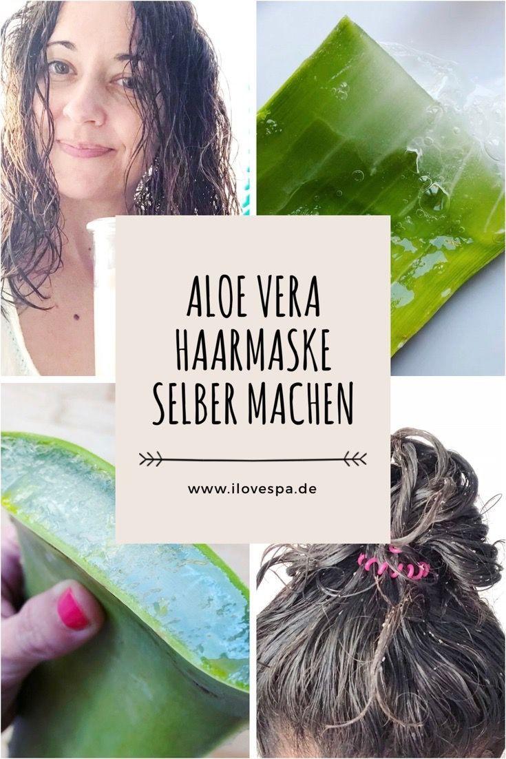 Aloe Vera Creme Selber Herstellen : diy aloe vera haarmaske haarmaske selber machen ~ Watch28wear.com Haus und Dekorationen