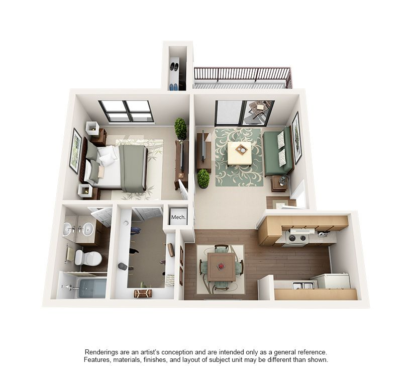 One And Two Bedroom Apartments In Austin Tx Two Bedroom Apartments Bedroom Apartment Apartment Floor Plan