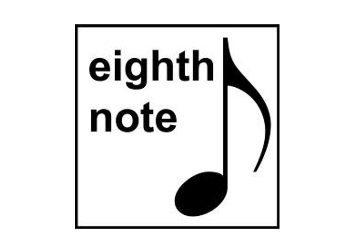 Eighth Note Donnas Pianos Pinterest Note