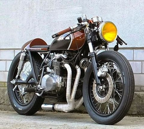 Honda CB500F 'Kobra' - Inazuma Cafe Racer