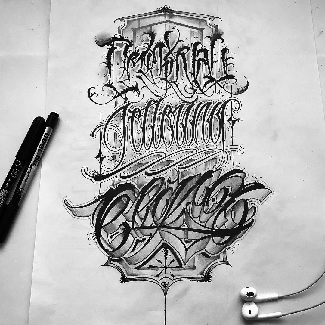 60 Cool Tattoo Fonts Ideas: 1,467 Me Gusta, 24 Comentarios