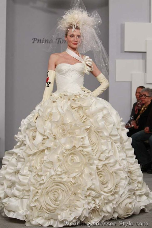 "Panina wedding dresses New for spring. ""Everyone need to really feel ..."