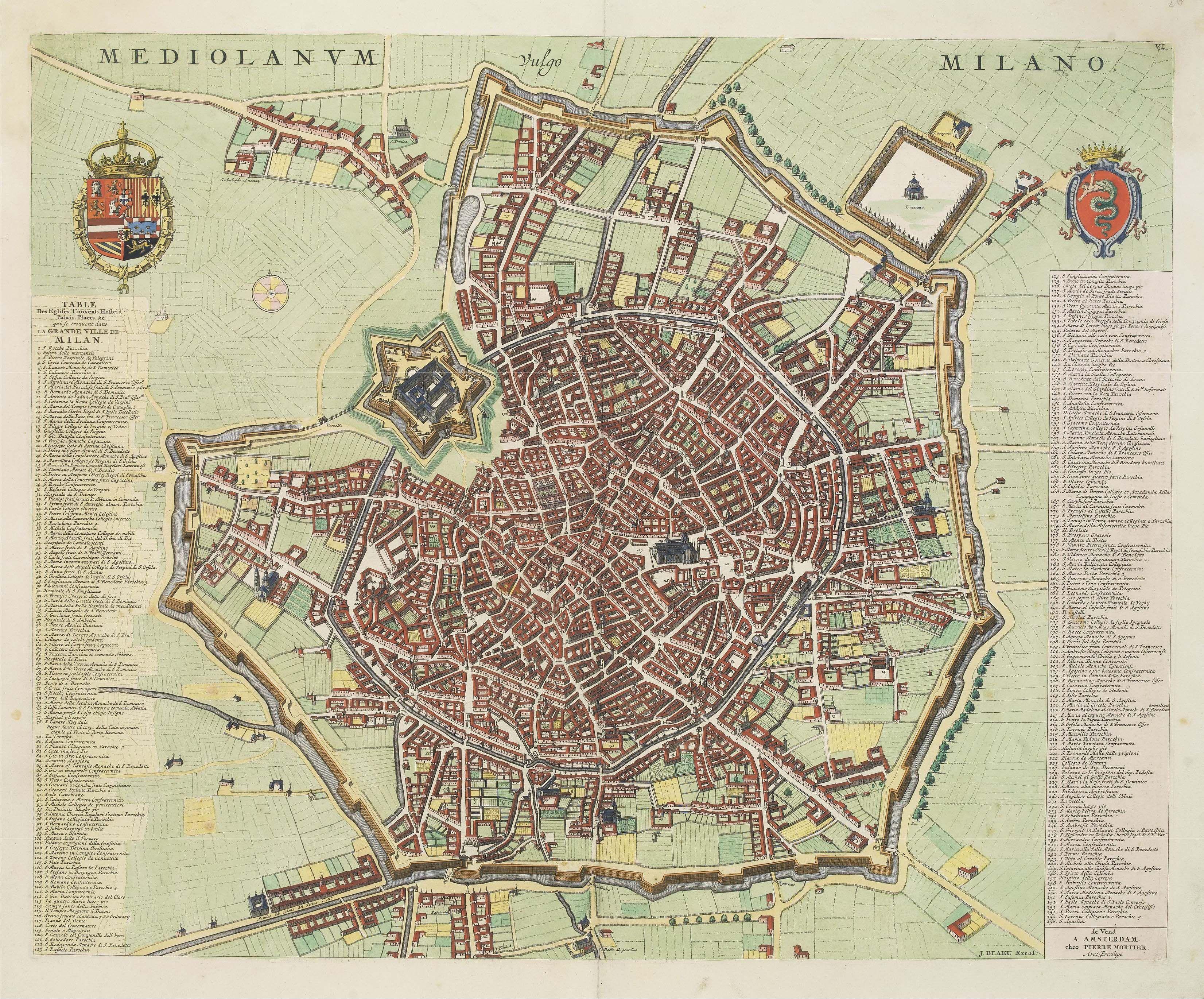 MILANO 1629 | Pierre Mortier (unico file alta definizione ...