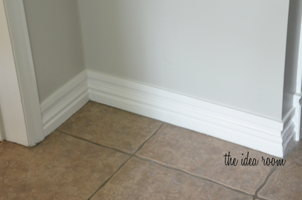 How To Make Baseboards Taller Baseboards Baseboard Styles