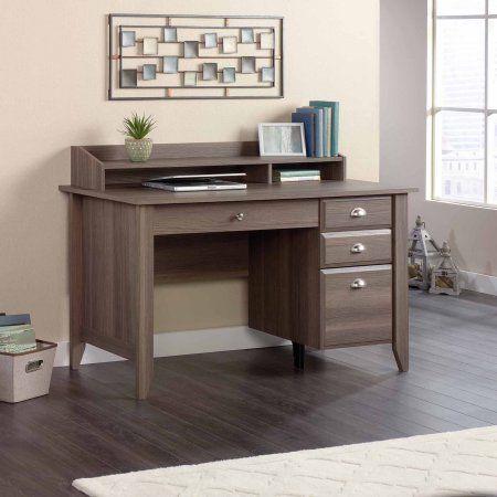 Sauder Shoal Creek Desk Diamond Ash Walmart Com Home Office Furniture Home Office Desks Office Desk