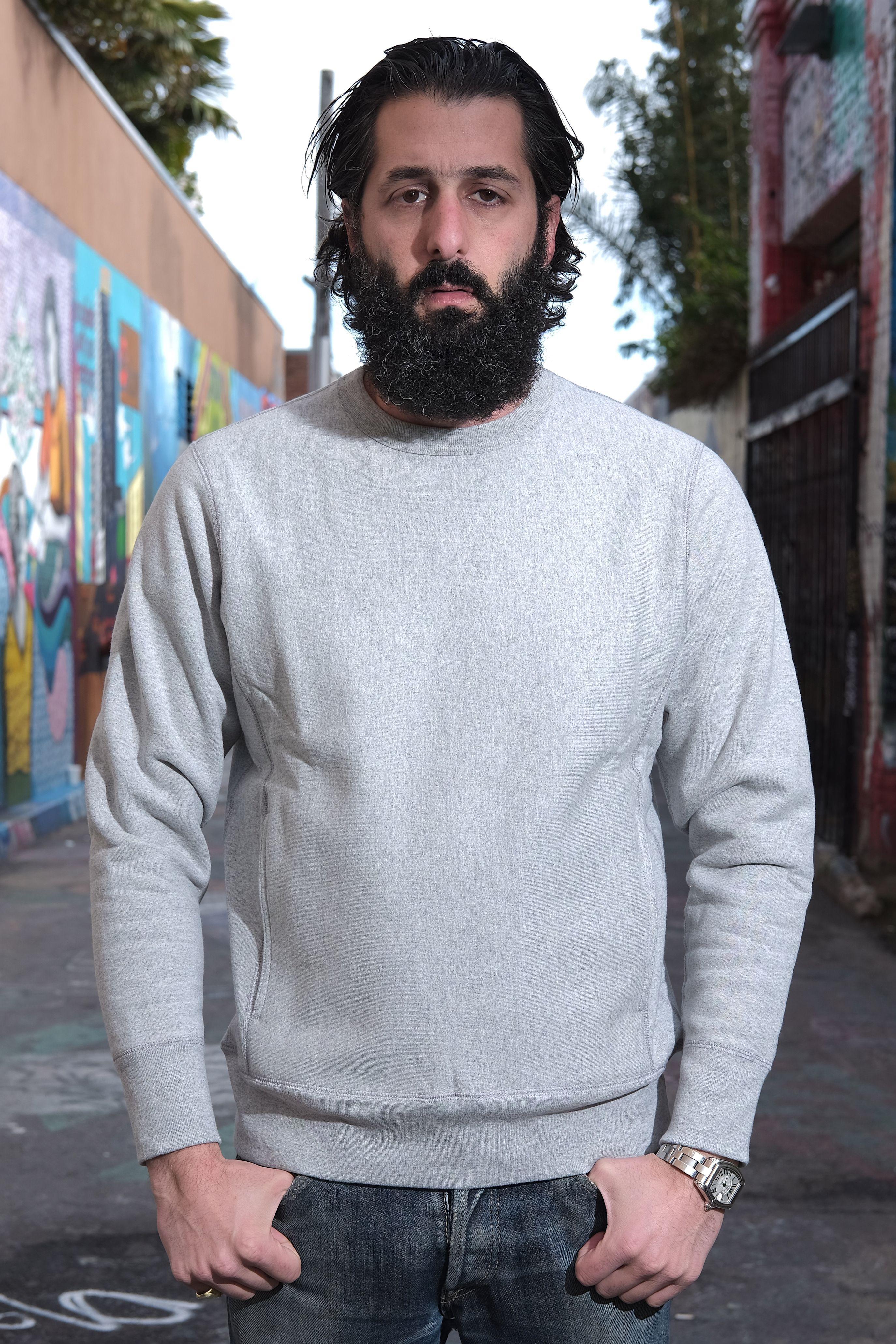 Featured Product Thumbnail Crew Neck Sweater Sweaters Custom Knit [ 4123 x 2749 Pixel ]