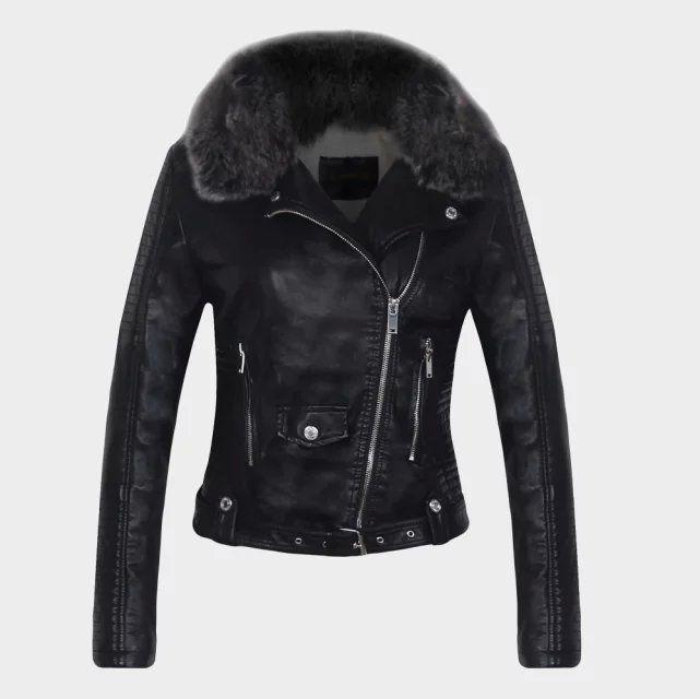Veste de moto femme hiver