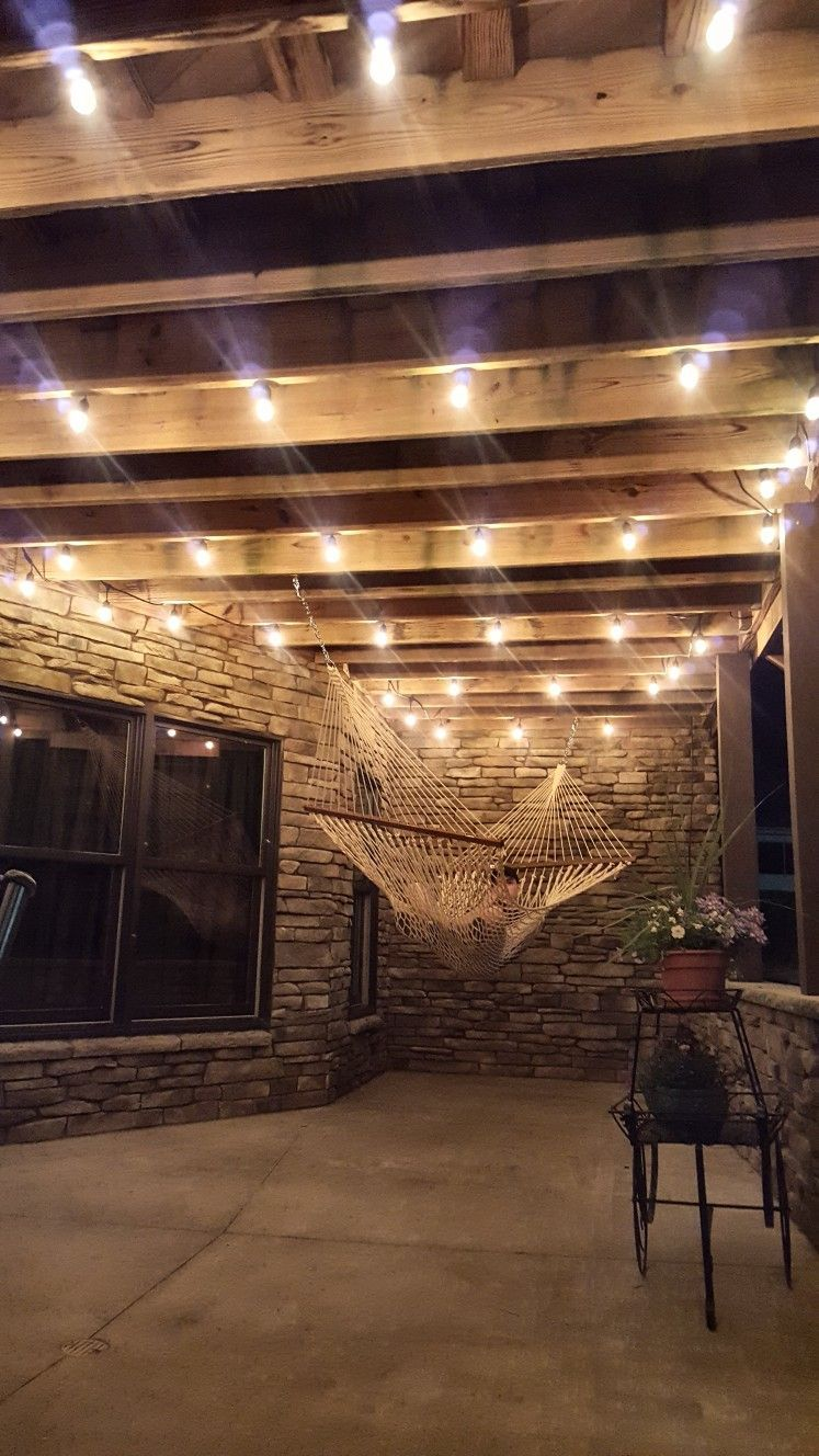 outdoor string lights on deck on pin on my pins pinterest