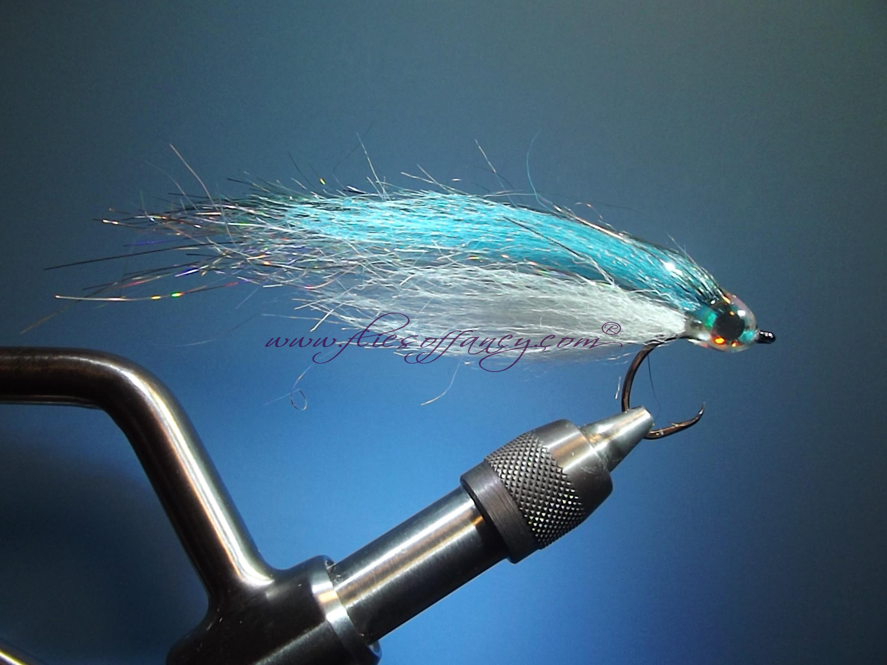 Blueback Herring,  fly tying