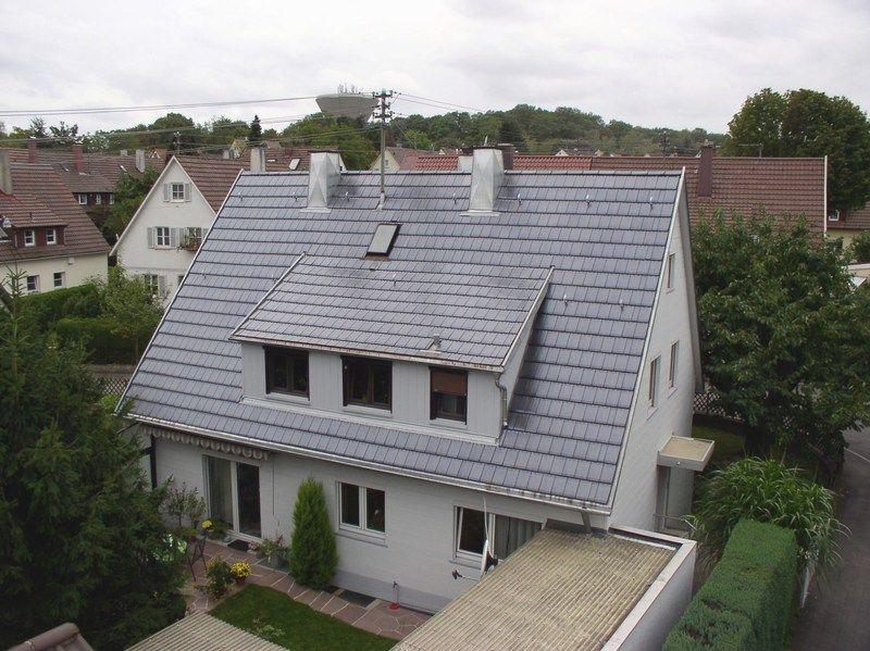 wohnhaus mit gro er dachgaube dacharbeiten der kemker gmbh bedachungen in ludwigsburg 71638. Black Bedroom Furniture Sets. Home Design Ideas