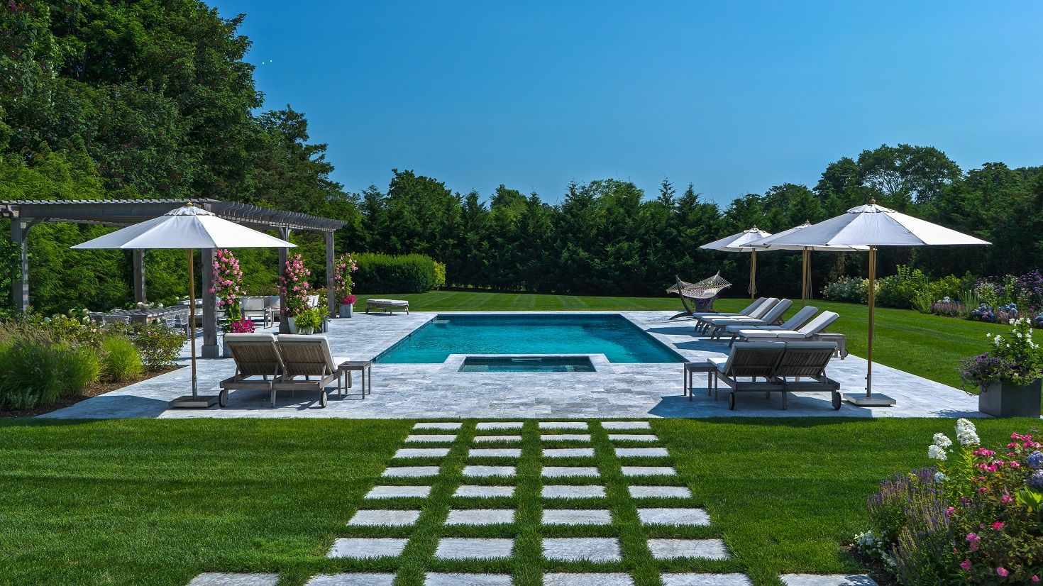 Pin By King And Company Landscape Con On Landscaping In The Hamptons Patio Outdoor Decor Landscaping Near Me