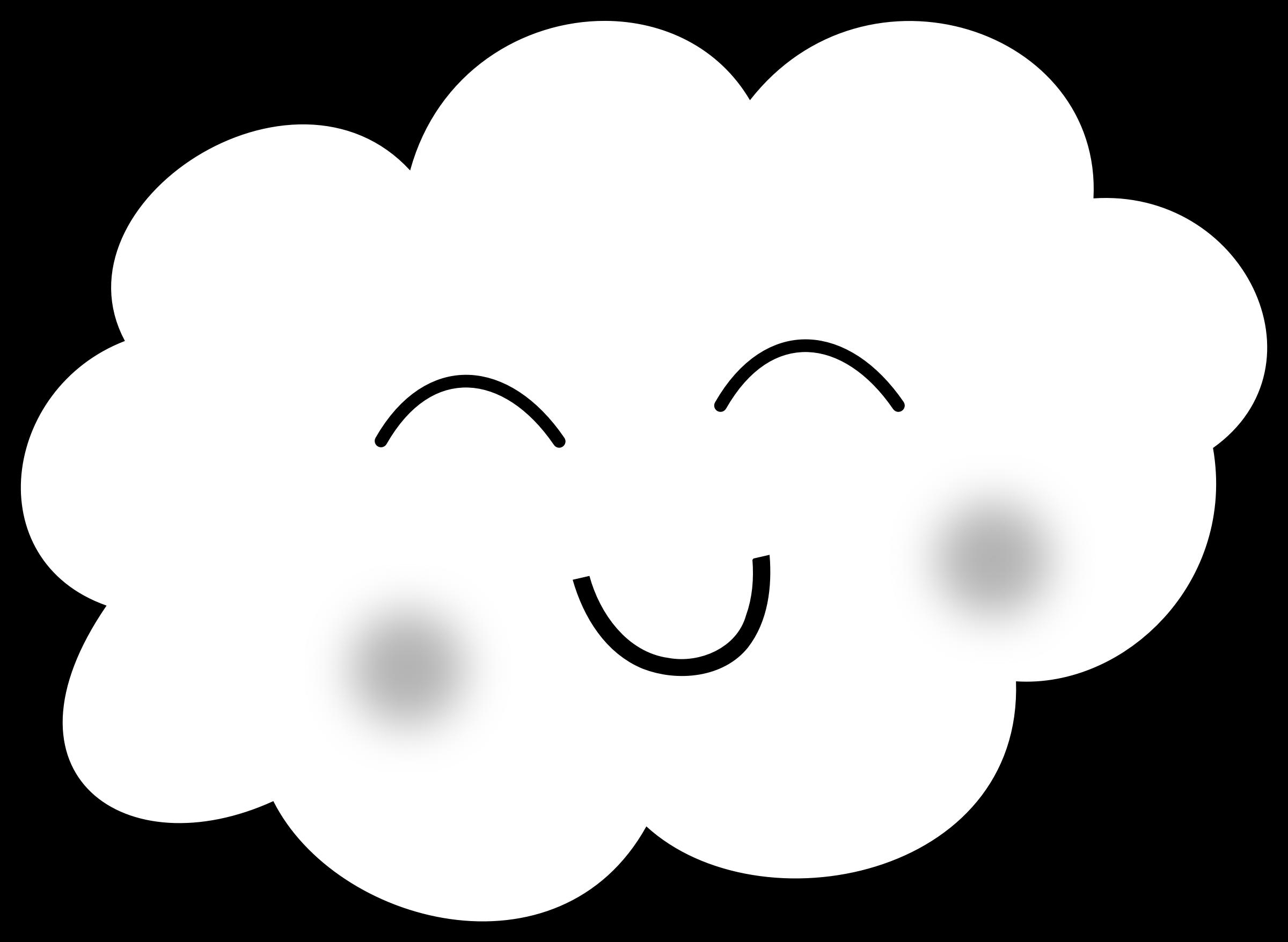 Resultado De Imagem Para Desenho De Nuvem Com Carinha Para Imprimir
