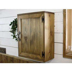 Cabinet Wooden Hinoki Niche for 40 × 20 × 52cm Embedded Type Wall Hanging …