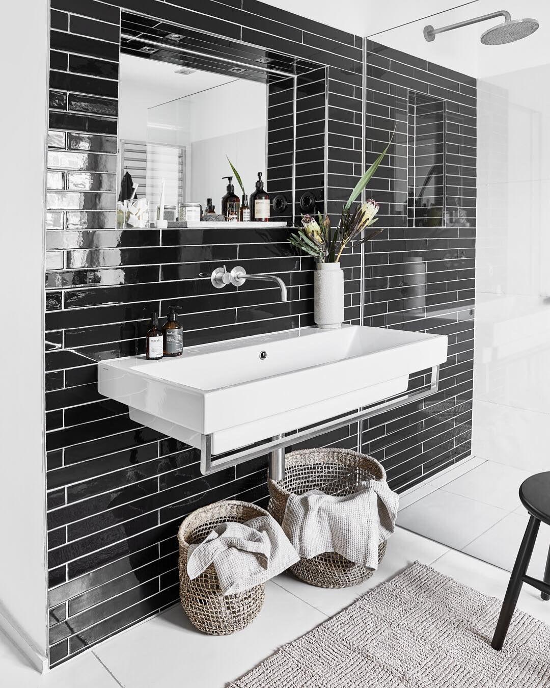 Bathroom Goals Beschreibt Das Badezimmer Mit Einem Emoji Und Shoppt Danach Gleich Die Produkte Indem Ihr Aufs Bild Tippt Badezimmer Badezimmer Deko Westwing