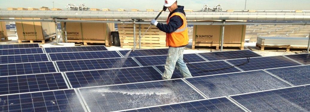 Solar Panel Cleaning Solar Panels Solar Power Plant Solar