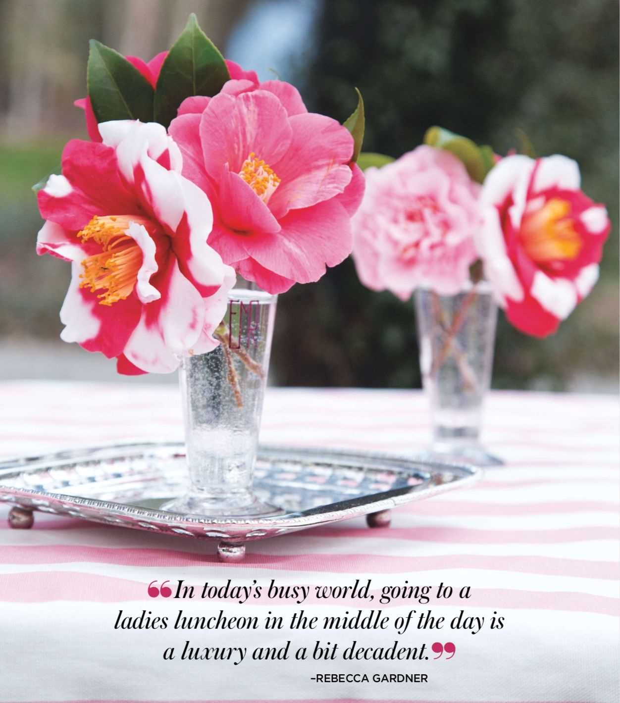 camellia grove luncheon flower quotes flowers home garden