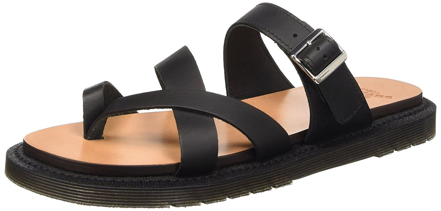 Dr. Martens Women's Kassy Strappy Toe Post Leather Fashion Sandals ^^ See this awesome image  : Strappy sandals