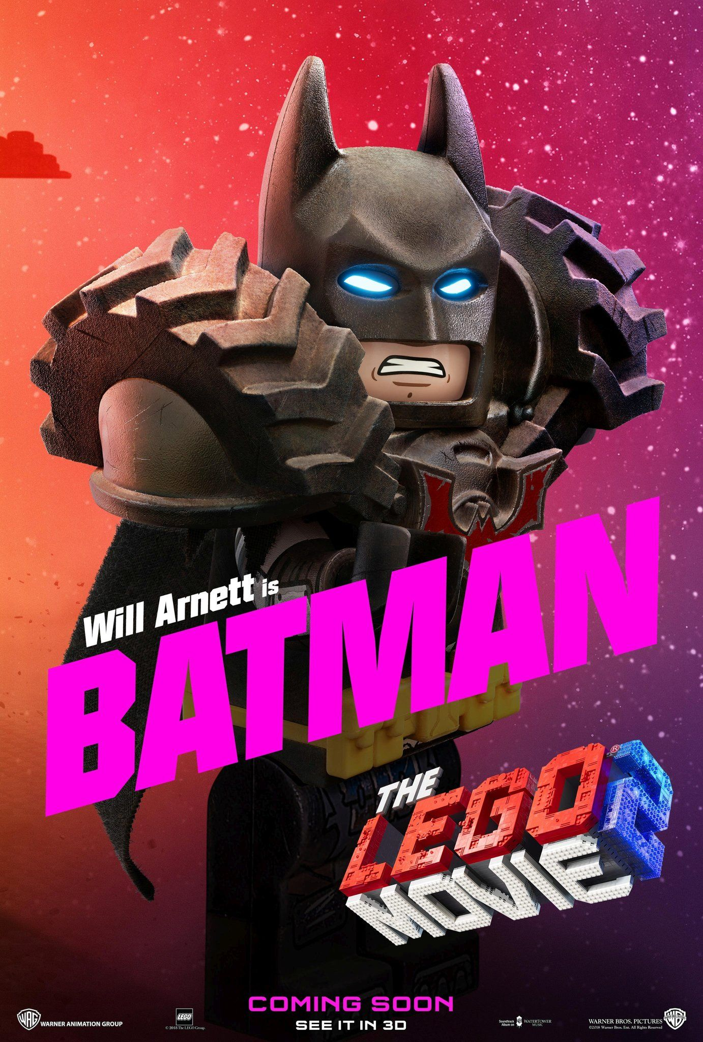 Will Arnett E Batman Em Thelegomovie2 Umaaventuralego2 Uma