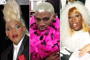 Dennis Rodman In Wedding Dress