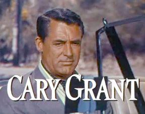 Cary Grant nel trailer di Caccia al ladro (To Catch a Thief, 1955) di Alfred Hitchcock
