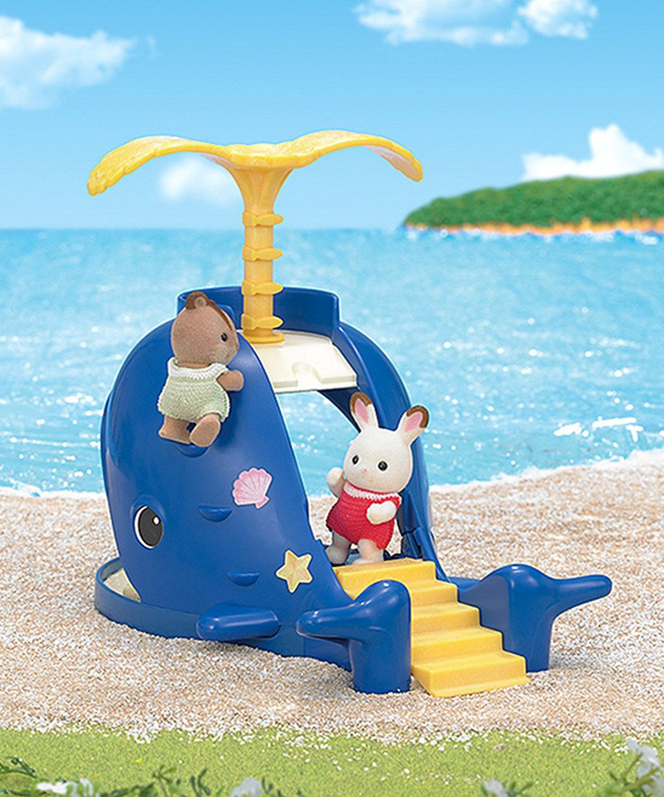 Love this Splash and Play Whale Play Set by Calico Critters on ...